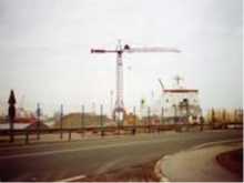KROELL Used tower crane