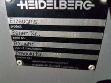 2002 Heidelberg Stahl KD78/4KTL