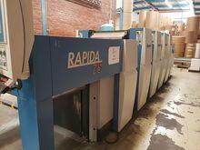 2012 KBA Rapida 75E
