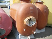 Used VEPO TANK GLASS