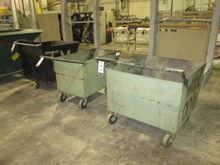Lot Metal Material Carts Consis