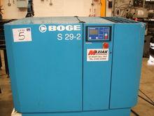 Boge Screw Compressor S29 2 wit