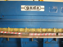 GADE C0 40 4 Hydraulic Guilloti