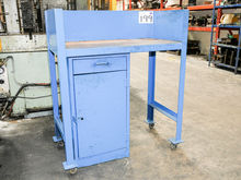 Metal Fabricated Workbench with