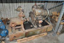 Hoge druk Waterpomp met diesel
