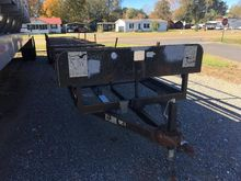 2006 40'L PIPE TRAILER, WITH TI