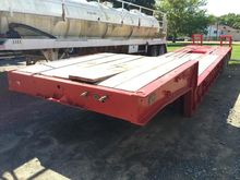 1982 LOAD CRAFT 50 TON LOWBOY,