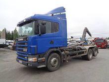1997 Scania 124 6×2 SKN-563