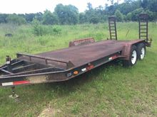 1990 CUSTOM Flatbed Trailers
