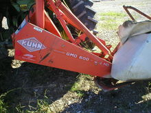 Used Kuhn GMD600 633