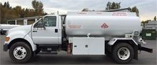 2007 FORD F750 FUEL TRUCK