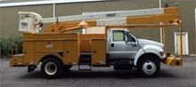2007 FORD F750 XL BUCKET BOOM T