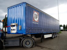 2001 Krone Trailer Curtainsider