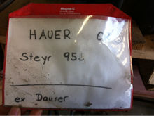 2000 Hauer front loader console