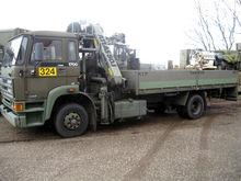 DAF FA 1700 with crane