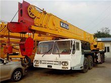 kato nk500e-v truck crane