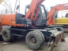 hitachi zx130w wheel excavator