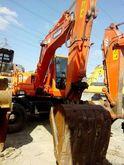 doosan dh150w-7 wheel excavator