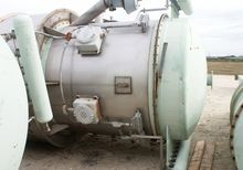 Dust Collector with Hopper. Bin