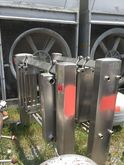 Qty 2 Each: used Stainless Stee