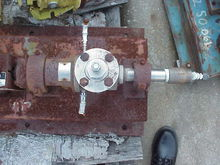 Used Moyno pump Model 2M2SSF. T