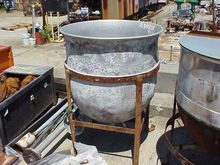 60 Gallon Stainless Steel Kettl