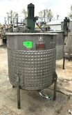 350 gallon Sanitary Jacketed Mi