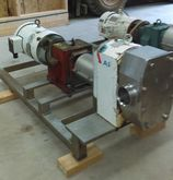 APV model R6BS Rotary lobe pump