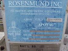 Used APOVAC vacuum r