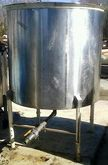 used approx. 500 gallon stainle