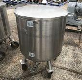 (4) approx. 90 Gallon Stainless