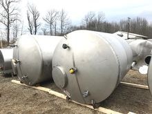 (2) used 1700 Gallon Walker San