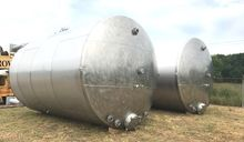 (5) Each, 15,000 Gallon Stainle