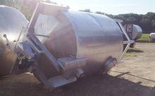 2500 Gallon Stainless Steel tan