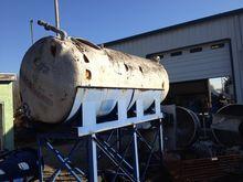 900 Gallon Horizontal Poly Tank