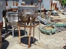 30 Gallon Stainless Steel sanit