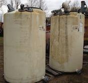 Qty. (2) Each: 550 gallon Poly