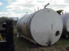 6500 gallon, horizontal stainle