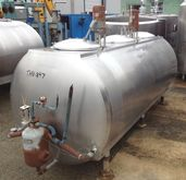 600 Gallon used Mojonnier Stain