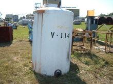 """550 Gallon Poly Tank.  3"""" side"""