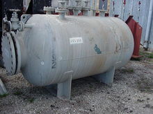 650 gallon horizontal vessel ra