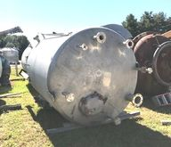2500 Gallon Stainless steel Vac