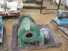 Morris Carbon Steel Sump pump.
