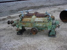 Boiler Feed Water Pumps. 8 Stag