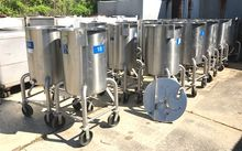 (15) 60 gallon Stainless Steel