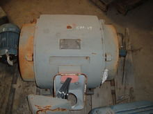 Used 50 HP electric motor. Buil