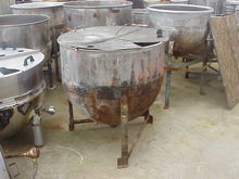 100 Gallon Stainless Steel Kett