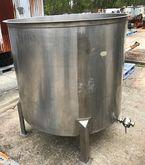used 500 gallon Sanitary Stainl