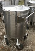 (2) approx. 70 Gallon Stainless