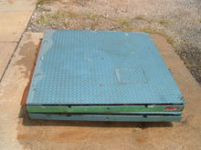 4X4 PLATFORM SCALES, NO READOUT